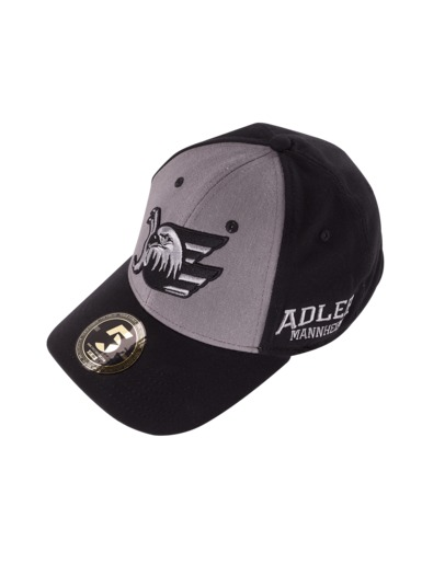Cap Basic black curved