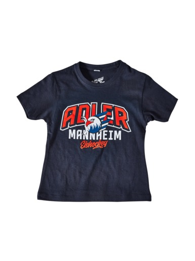 2939fee41c30 T-Shirt Logo Schrift Kids navy » Kids » Categories » Adler Mannheim