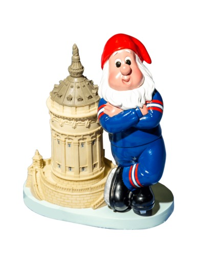 garden gnome water tower Adler Mannheim