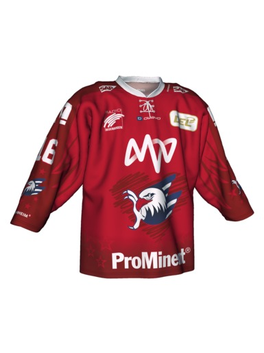 Authentic Jersey Heart Adler Mannheim 19/20