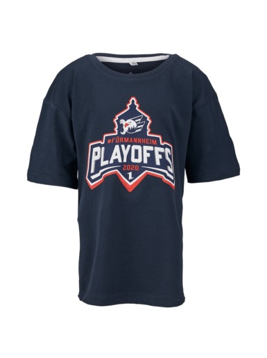 T-Shirt Playoffs 2020 Kids Adler Mannheim